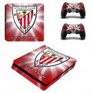 Athletic Bilbao FC decal skin sticker for PS4 Slim console and controllers