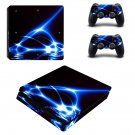 Abstract wallpaper decal skin sticker for PS4 Slim console and controllers