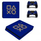 Classic design decal skin sticker for PS4 Slim console and controllers