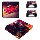 Need for Speed payback decal skin sticker for PS4 Slim console and controllers