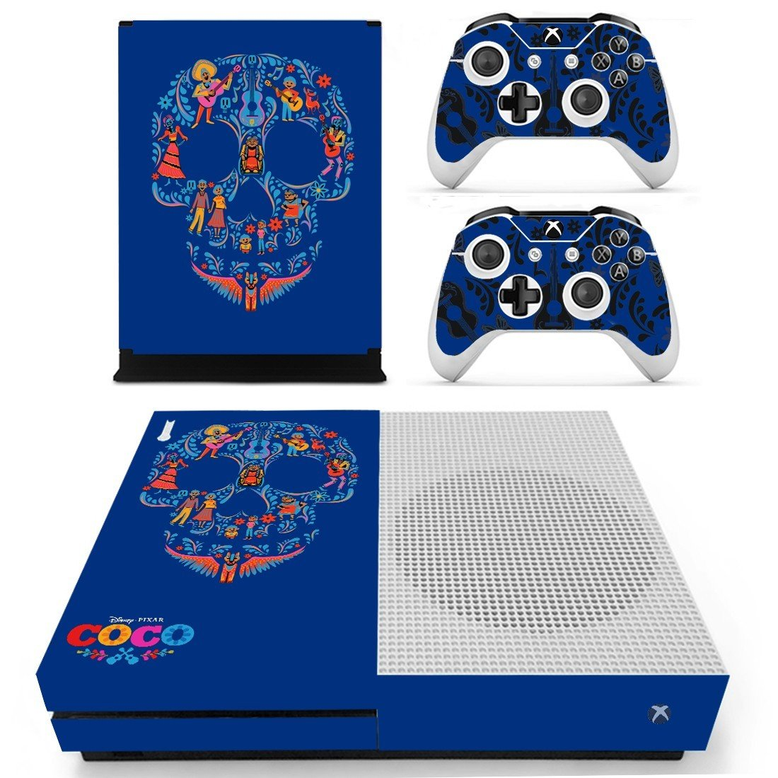 Coco the film decal skin sticker for Xbox One S console and controllers