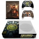 Fallout decal skin sticker for Xbox One S console and controllers