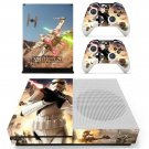 Stars wars battlefront decal skin sticker for Xbox One S console and controllers