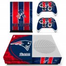 New England Patriots decal skin sticker for Xbox One S console and controllers