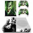 DC universe online batman decal skin sticker for Xbox One S console and controllers