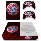FC Bayern Munchen decal skin sticker for Xbox One S console and controllers