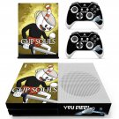 Cuphead decal skin sticker for Xbox One S console and controllers