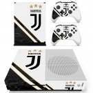 Juventus decal skin sticker for Xbox One S console and controllers