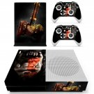 Warcraft decal skin sticker for Xbox One S console and controllers