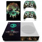 Sea of Thieves decal skin sticker for Xbox One S console and controllers
