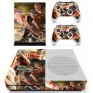 Attack on Titan 2 decal skin sticker for Xbox One S console and controllers
