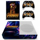 Avengers infinity war decal skin sticker for Xbox One S console and controllers