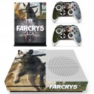Far Cry 5 decal skin sticker for Xbox One S console and controllers