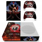 God of War 4 decal skin sticker for Xbox One S console and controllers