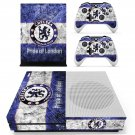 Chelsea FC decal skin sticker for Xbox One S console and controllers