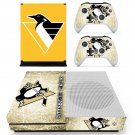 Pittsburgh Penguins decal skin sticker for Xbox One S console and controllers