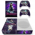 Bloodstained Ritual of the Night decal skin sticker for Xbox One S console and controllers