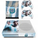 Argentine Football Association decal skin sticker for Xbox One S console and controllers