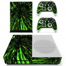 Abstract Wallpaper decal skin sticker for Xbox One S console and controllers