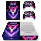 Tech Wallpaper decal skin sticker for Xbox One S console and controllers