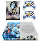 2018 FIFA World Cup Messi decal skin sticker for Xbox One S console and controllers