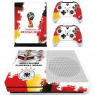 2018 FIFA World Cup Deutscher decal skin sticker for Xbox One S console and controllers