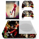 2018 FIFA World Cup Cristiano Ronaldo decal skin sticker for Xbox One S console and controllers