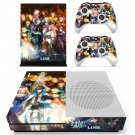 Fate Extella decal skin sticker for Xbox One S console and controllers