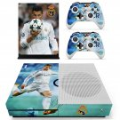 Cristiano Ronaldo decal skin sticker for Xbox One S console and controllers