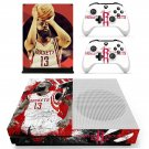 James Harden decal skin sticker for Xbox One S console and controllers
