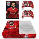 Mohamed Salah decal skin sticker for Xbox One S console and controllers