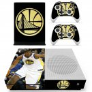 Golden state warriors decal skin sticker for Xbox One S console and controllers