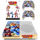 Mega Man 2 decal skin sticker for Xbox One S console and controllers
