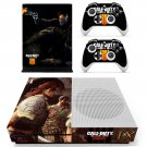 Call of Duty black ops zombies decal skin sticker for Xbox One S console and controllers