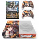 Valkyria Chronicles 4 decal skin sticker for Xbox One S console and controllers