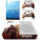 Battlefield 5 decal skin sticker for Xbox One S console and controllers