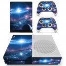 Galaxy Wallpaper decal skin sticker for Xbox One S console and controllers