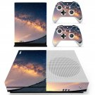 Sky Wallpaper decal skin sticker for Xbox One S console and controllers