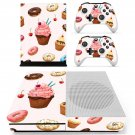 Fast food decal skin sticker for Xbox One S console and controllers