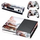 Chinese house decal skin sticker for Xbox One console and controllers