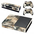 Hill Wallpaper decal skin sticker for Xbox One console and controllers
