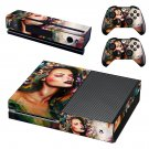 Lady Wallpaper decal skin sticker for Xbox One console and controllers