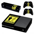 Danger Icon decal skin sticker for Xbox One console and controllers