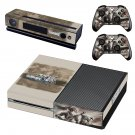 Valkyria Chronicles 4 decal skin sticker for Xbox One console and controllers