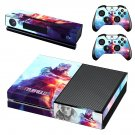Battlefield 5 decal skin sticker for Xbox One console and controllers