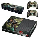 Gears of War 5 decal skin sticker for Xbox One console and controllers
