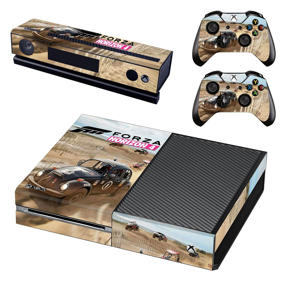 Forza Horizon 4 decal skin sticker for Xbox One console and controllers
