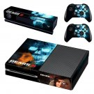 Gears 5 decal skin sticker for Xbox One console and controllers