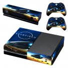 Starfield decal skin sticker for Xbox One console and controllers