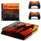Wolfenstein youngblood decal skin sticker for PS4 console and controllers